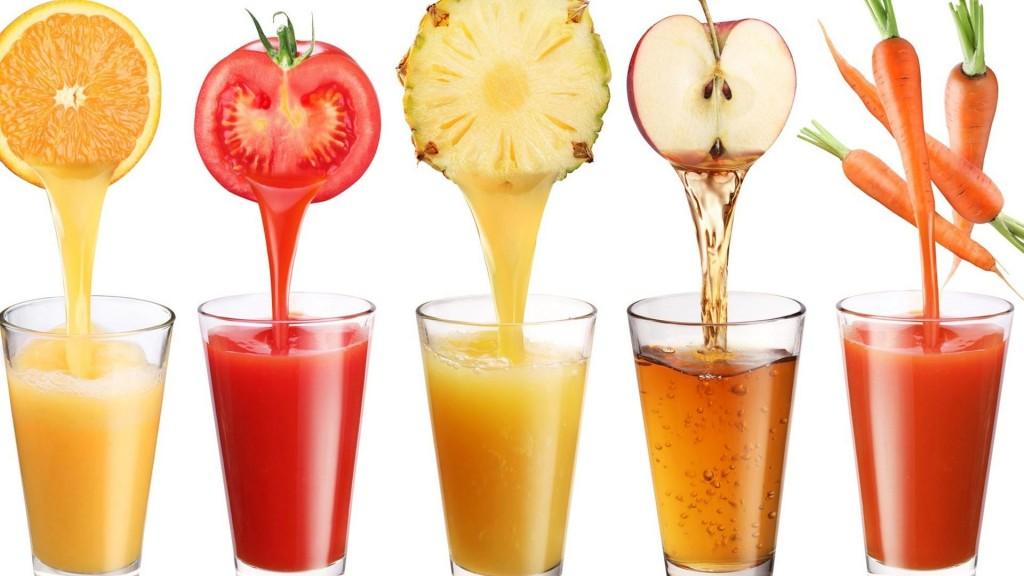 Detalles de nutrición: refréscate con el zumo del color que más te guste