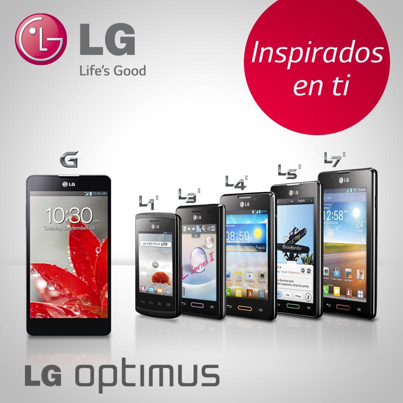Comunicado: Aplicación LG Optimus
