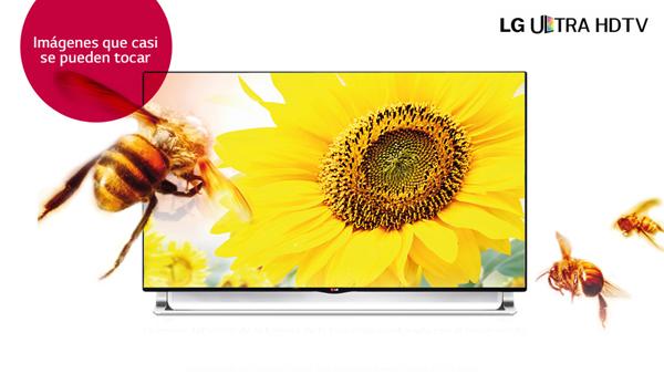 Enámorate de la mejor resolución del mercado, el Ultra HD 4K de LG