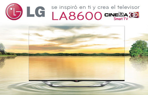 Una persona estupenda merece lo mejor, conoce al LG LA8600.