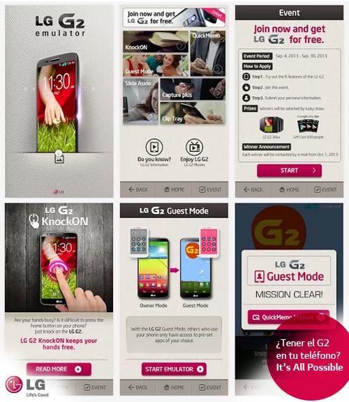 LG te lleva al mundo G2 con el G2 Emulator de Google Play. ¡Descárgalo!
