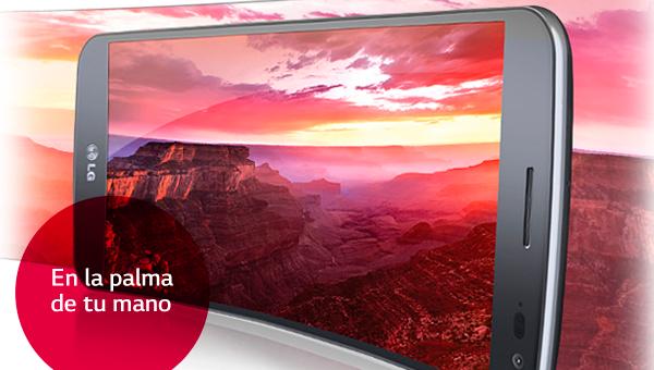 La pantalla del LG G Flex te hará sentir como en el cine