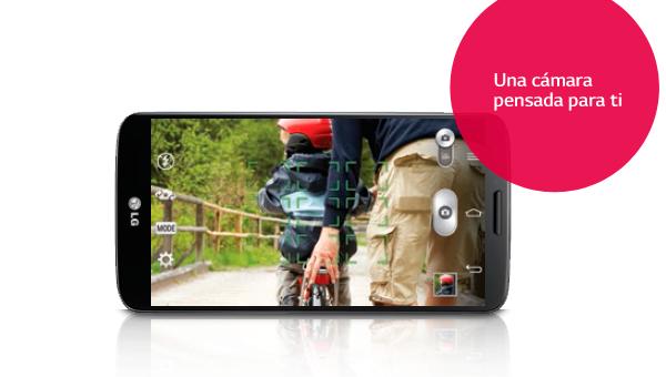 Descubre la impresionante cámara del LG G2