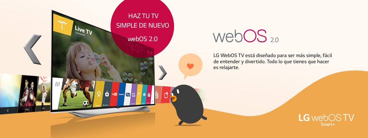 Banner webOS Smart TV