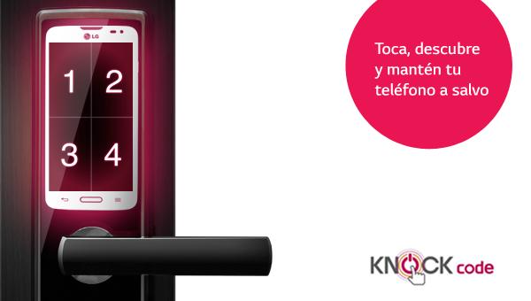 Activa Knock Code en tu smartphone