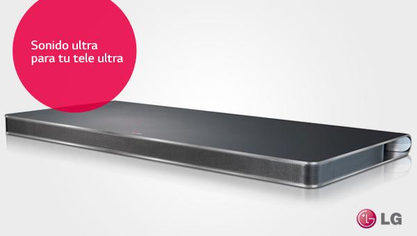 LG SoundPlate: el mejor sonido en el mejor diseño