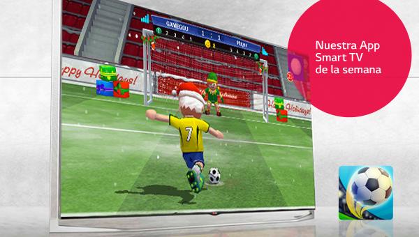 Perfect Kick: la aplicación perfecta en tu Smart TV LG