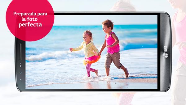 La cámara del LG G3 está preparada para tu foto perfecta