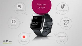 7 funciones útiles para tu LG G Watch