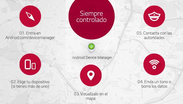 Android Device Manager, la app que salvará tu teléfono de los robos