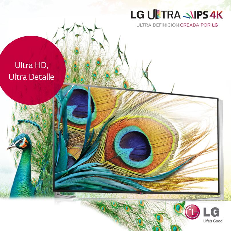 LG Ultra HD 4K, más emociones y diversión