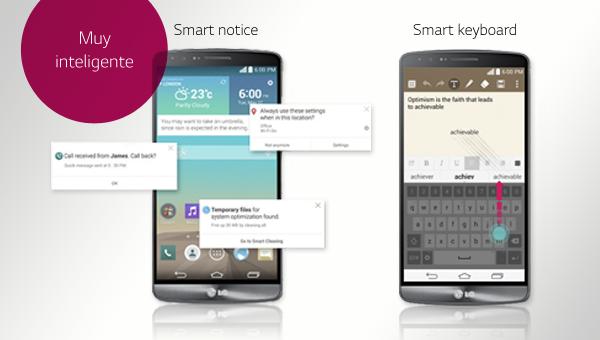 LG G3 el teléfono más inteligente