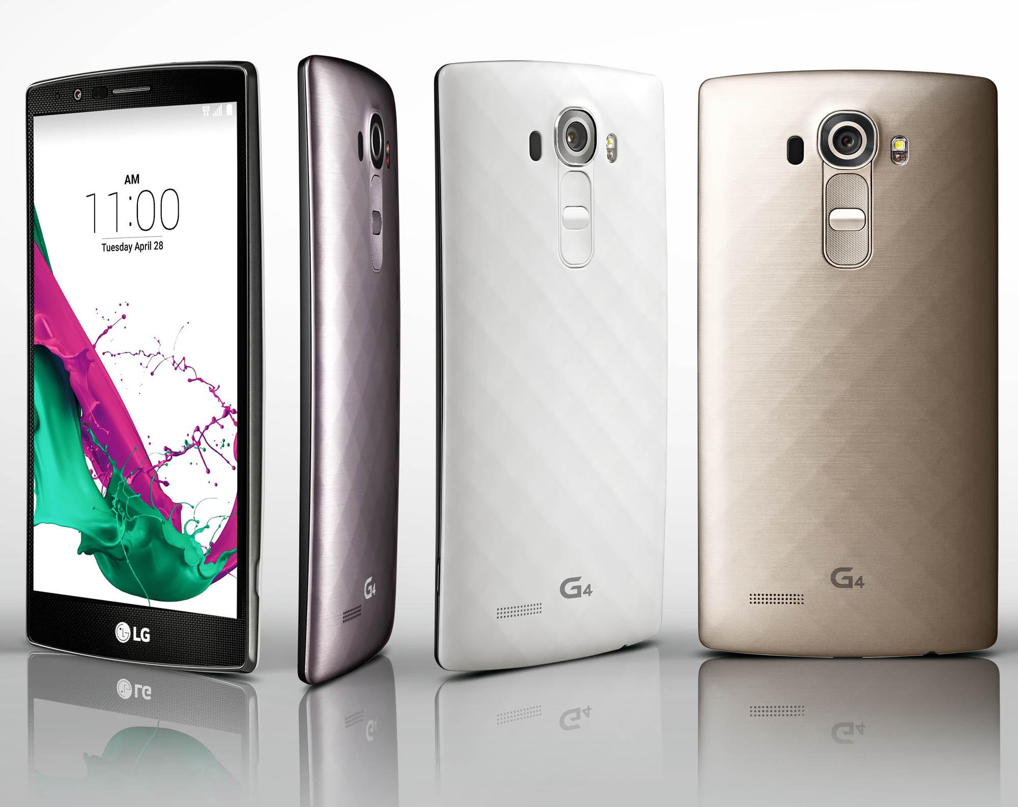 NUEVO SMARTPHONE LG G4, MÁS INTUITIVO CON INTERFAZ UX4.0