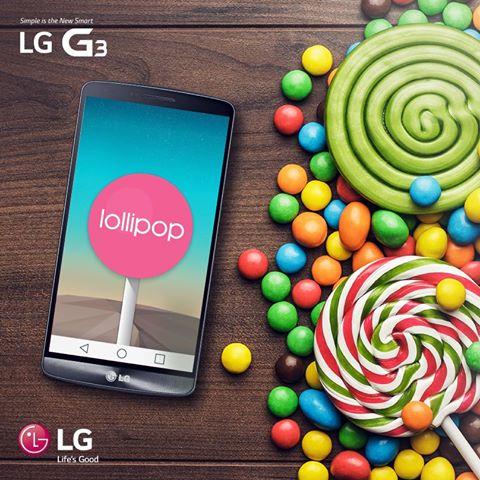 Aprende a actualizar a Lollipop tu LG G3