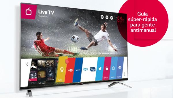 Aprende a utilizar el nuevo menú de WebOS en tu LG Smart TV