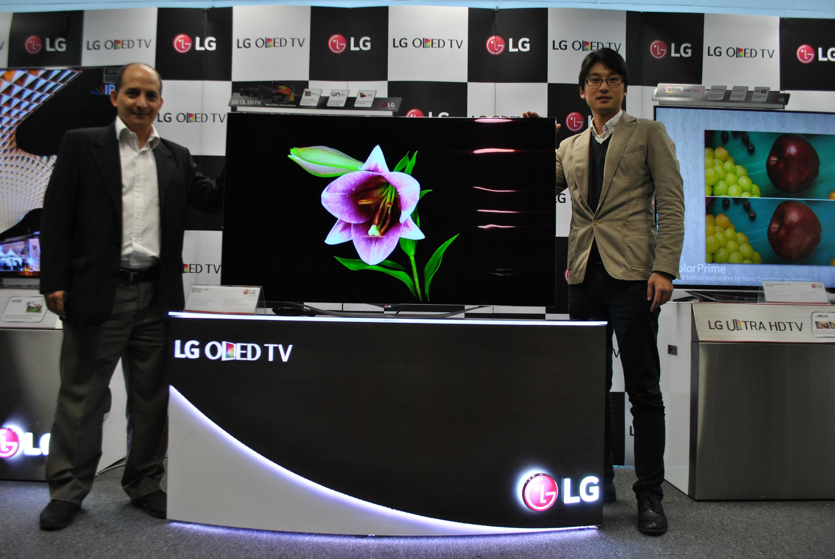 Presentamos nuestra nueva línea 2015 de televisores OLED TV