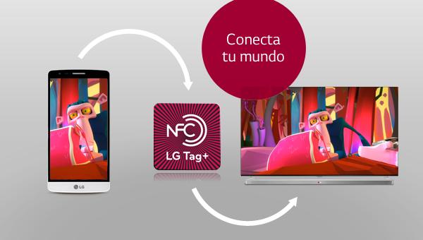 Aprende a usar el NFC de tu smartphone y Smart TV LG