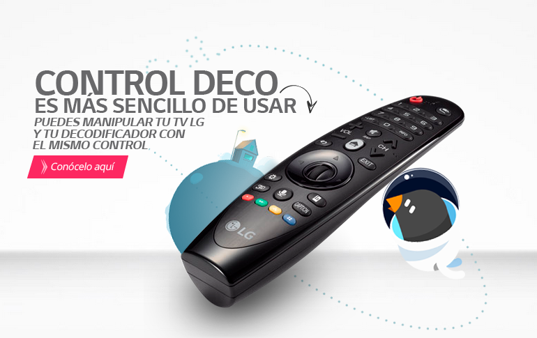 Control Deco Magic remote: el mando que controla todo.