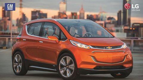 LG y General Motors firman para desarrollar nuevo vehículo eléctrico
