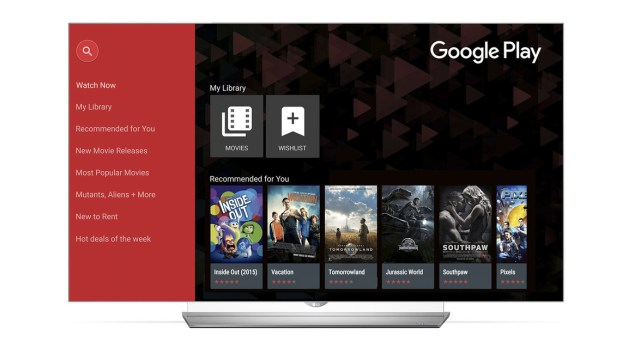 Los Smart TV de LG tendrán acceso a Google Play Movies & TV