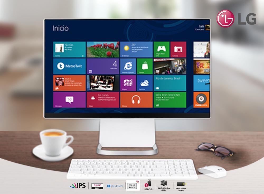 PC, Monitor y TV en un mismo producto gracias a LG