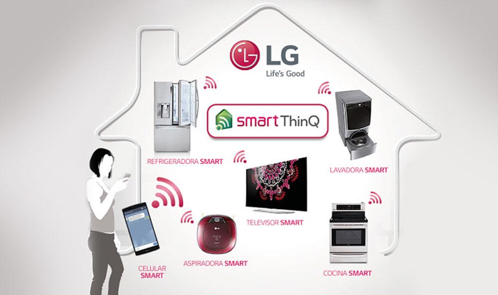 LG llega a un acuerdo con Google para hacer realidad el hogar inteligente
