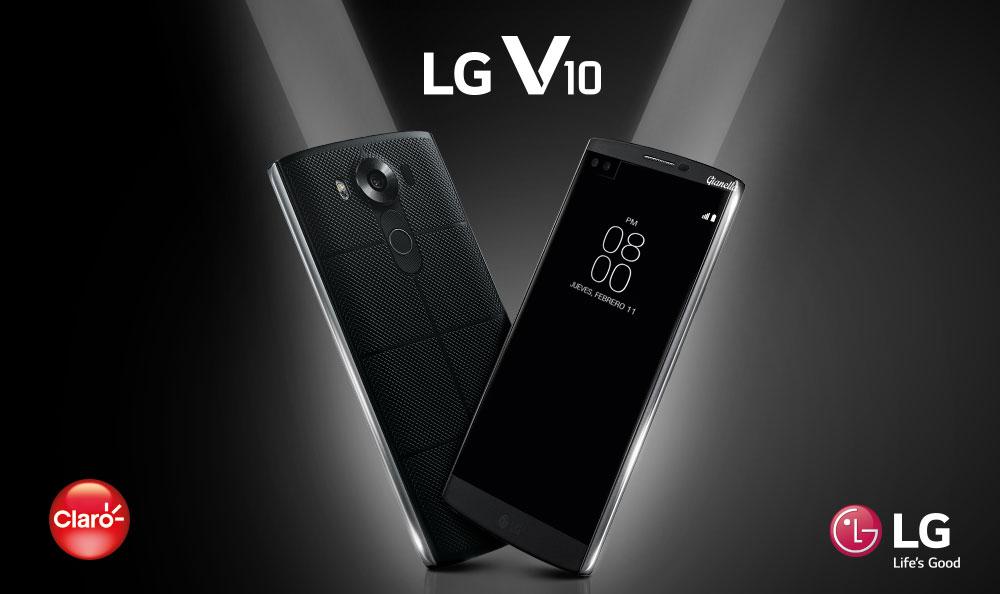 LG y Claro presentan el nuevo LG V10