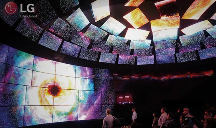 LG y Harmonic transmitirán imágenes de la NASA en calidad 4K HDR