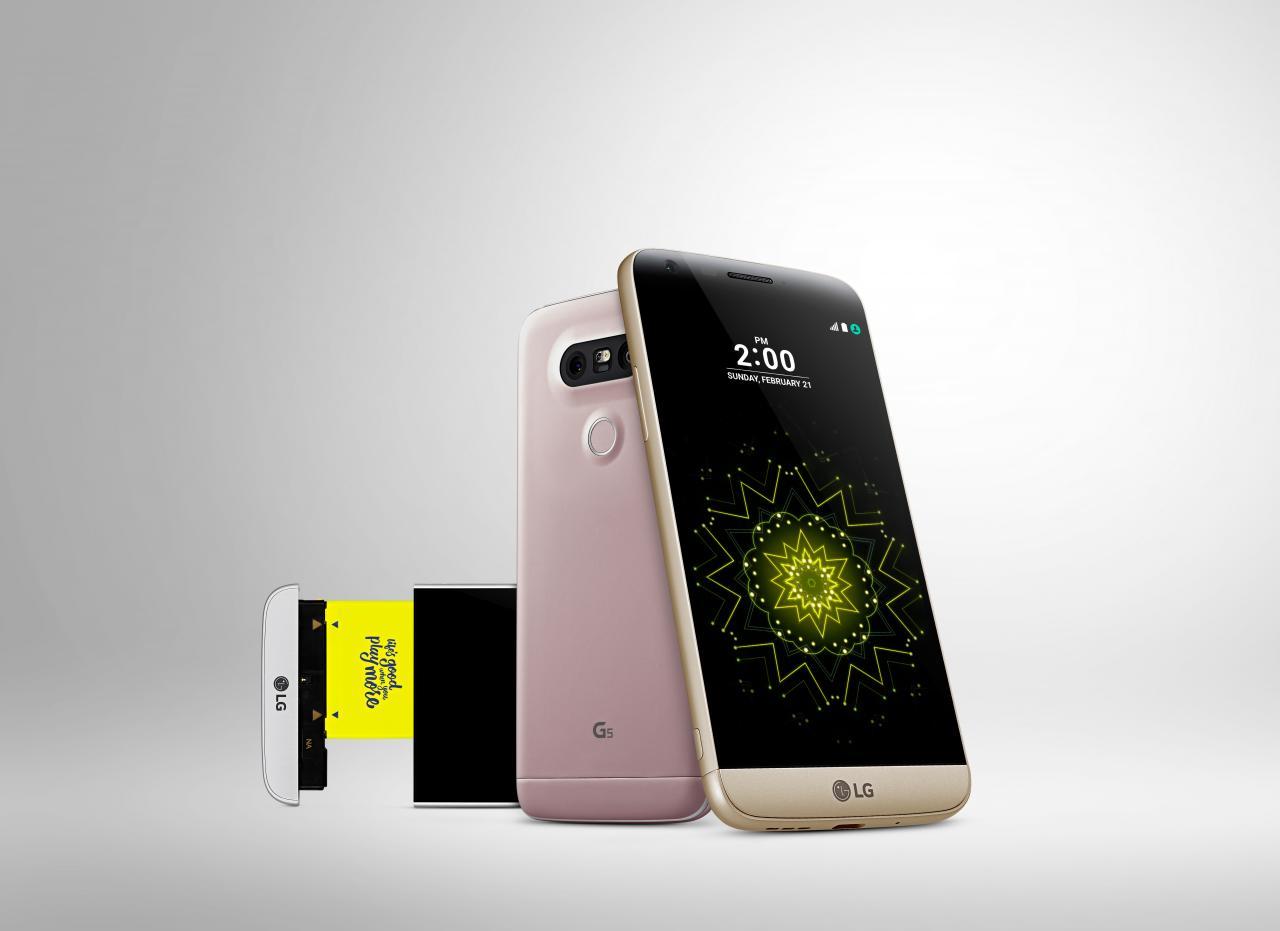 LG G5 SE primer Smartphone de piezas modulares
