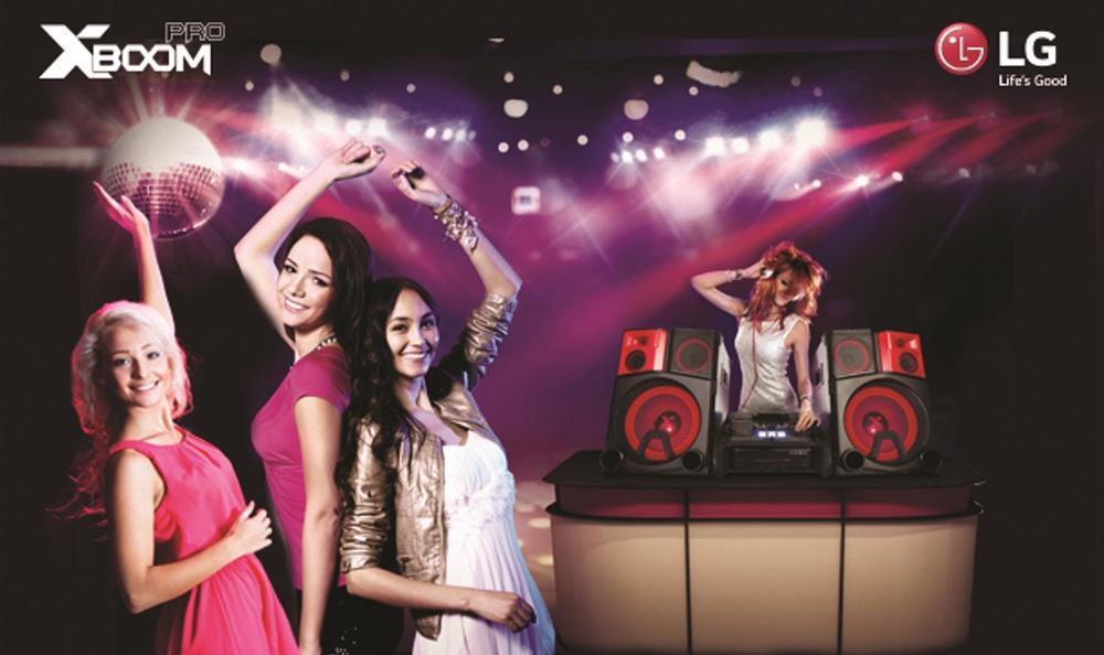 LG presenta minicomponente de 4400W con consola DJ que permite mezclar canciones y compartirlas