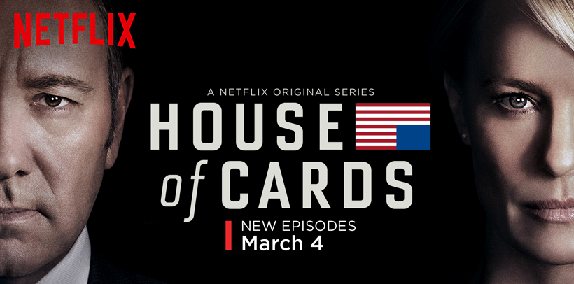 El Regreso de House Of Cards (sin spoilers)
