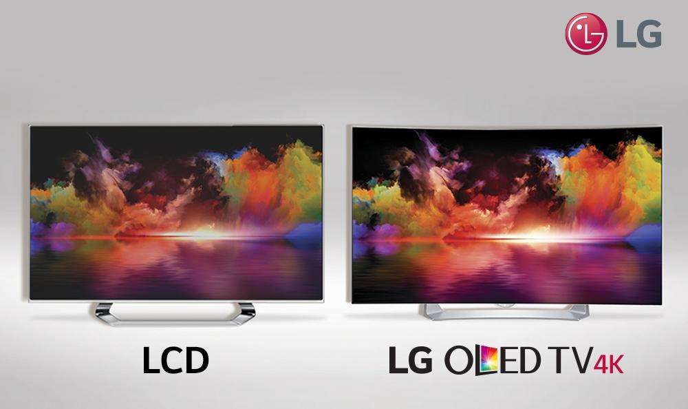 Pantallas de TV OLED superan en claridad a pantallas LCD