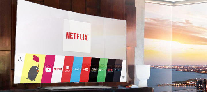 Disfruta de las categorías de Netflix