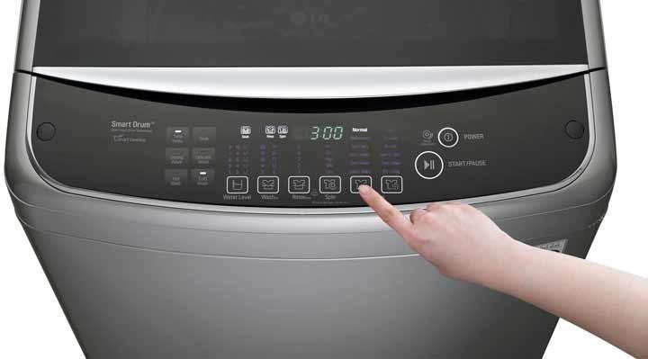 Aprende a reconocer los errores más comunes de tu lavadora