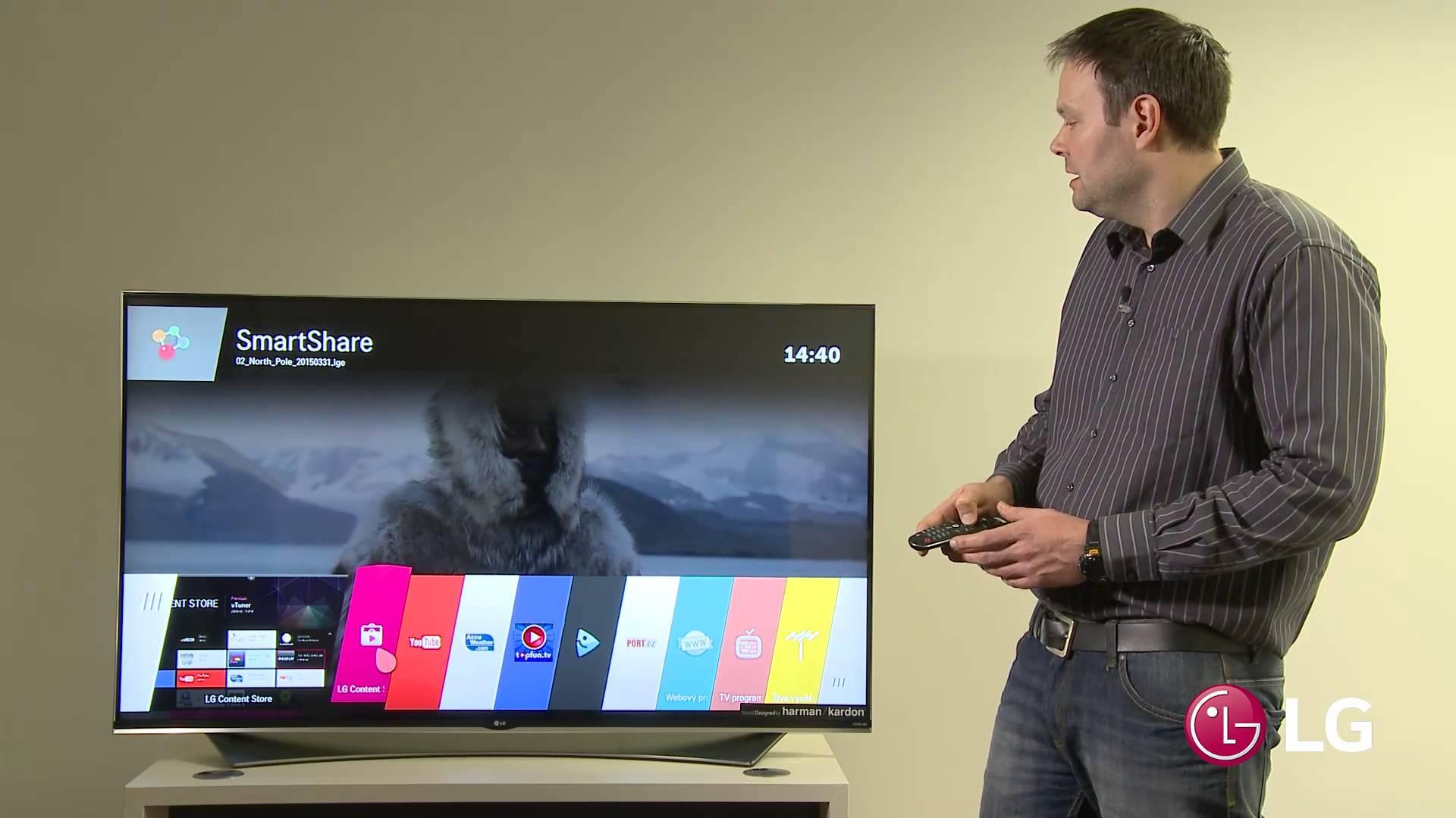 ¿Cómo conecto internet a mi Smart TV LG?