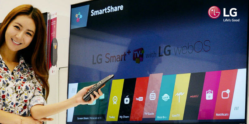 Te enseñamos a entrar al LG Store desde tu Smart TV