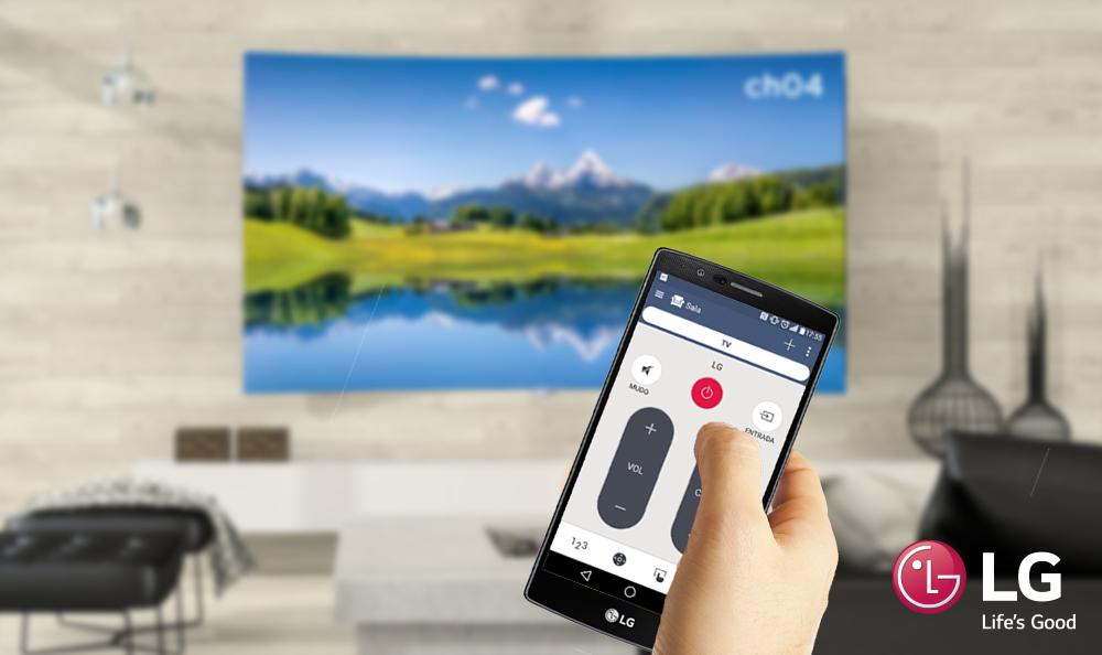 LG crea aplicación para controlar la TV con un Smartphone
