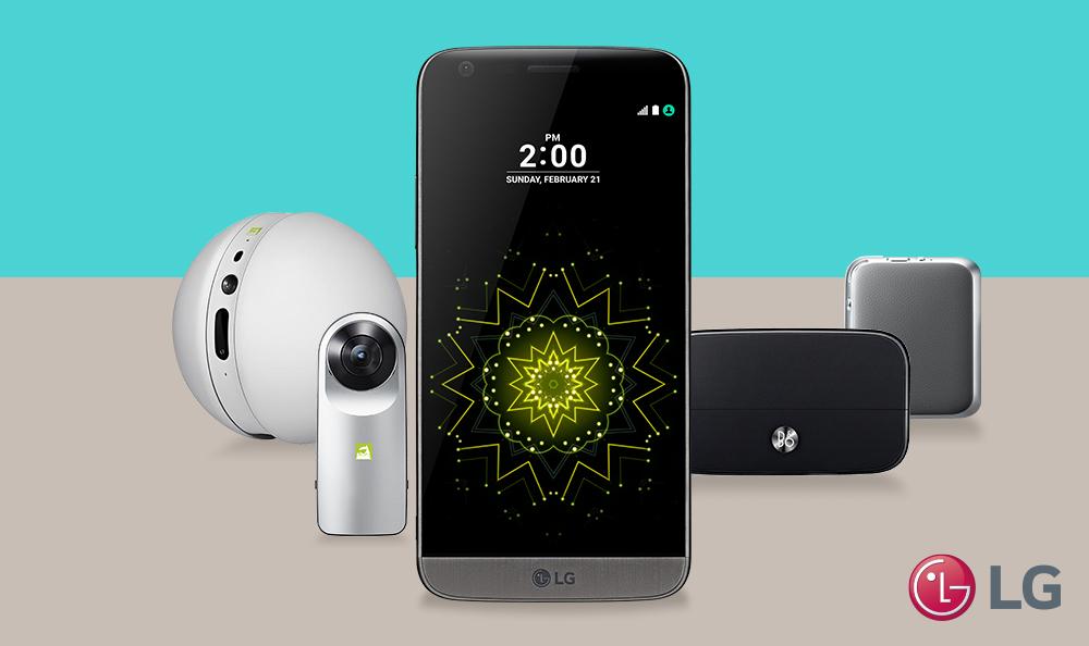 Así de fácil se conecta la LG CAM 360 al LG G5