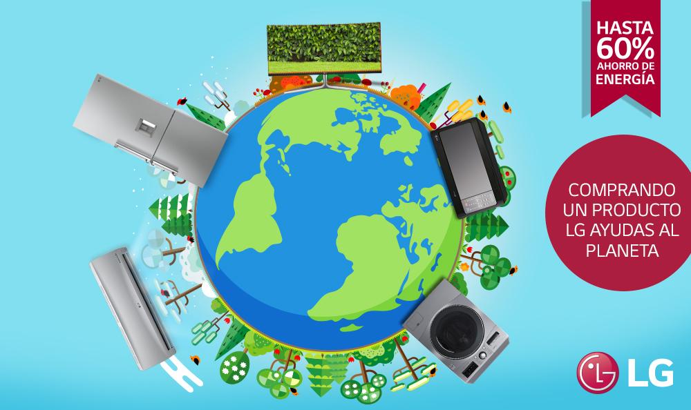 Tecnologías de LG ahorran considerablemente la energía en el hogar