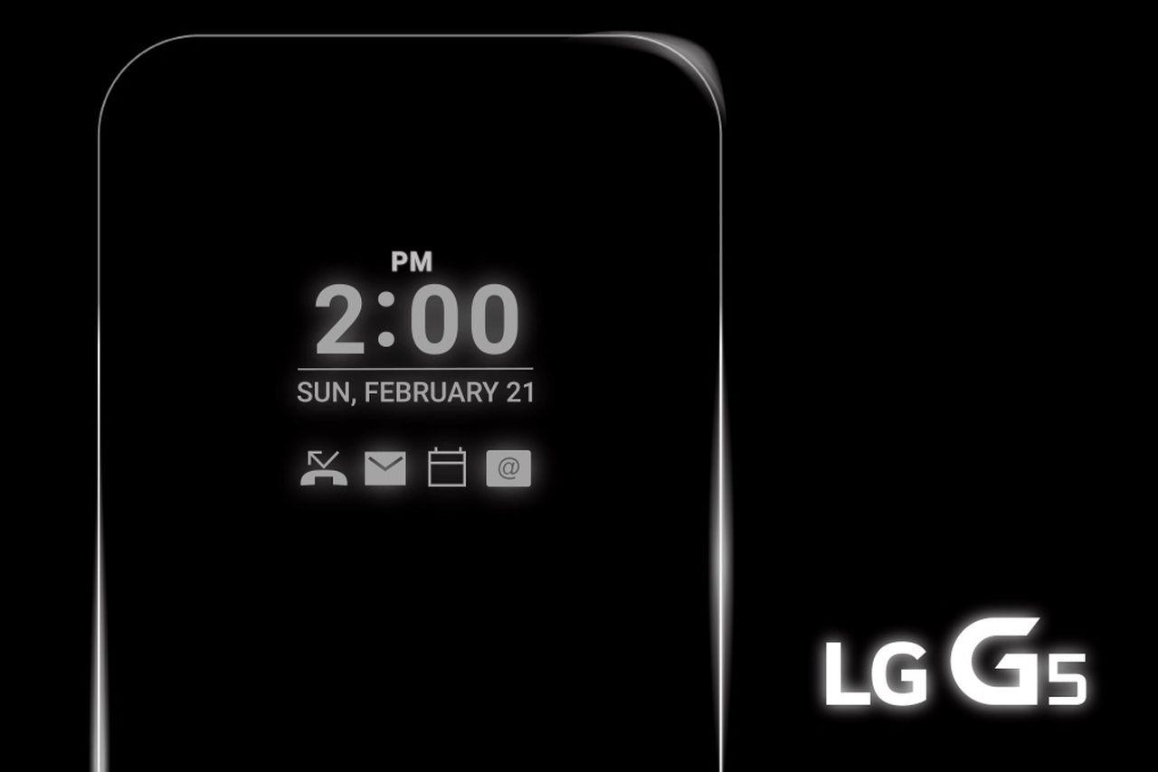"""Ventajas de la pantalla """"siempre encendida"""" del LG G5"""