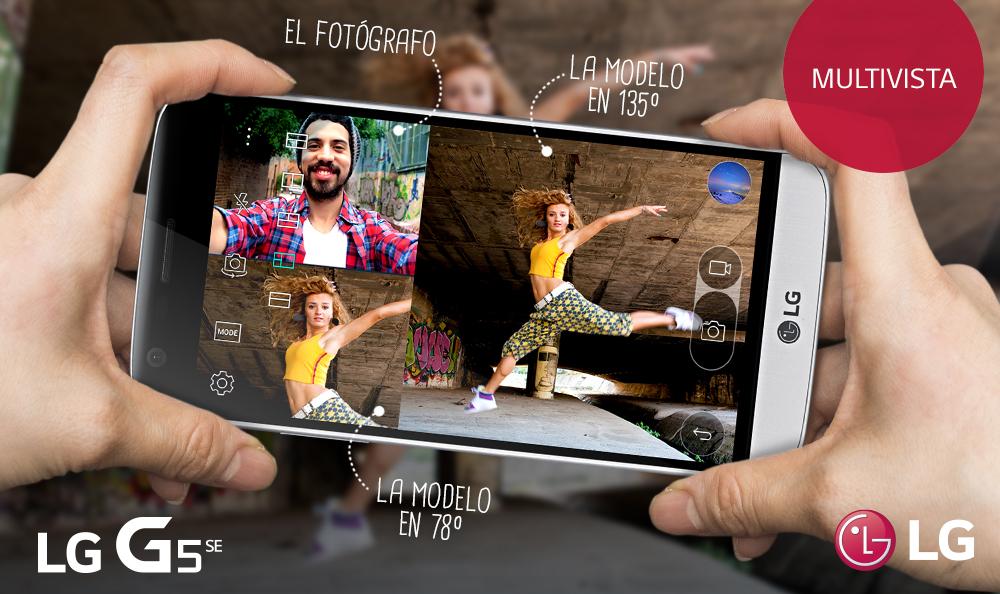 ¿Cómo activar la opción Multi vista de tu LG G5 SE?
