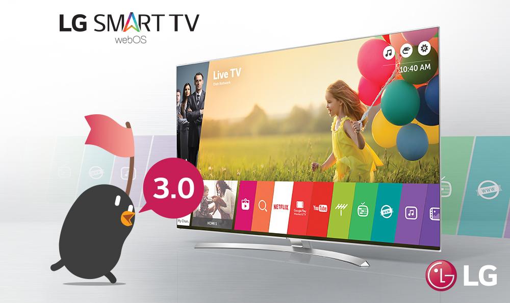 LG lanza nueva versión del sistema operativo webOS de sus Smart TVs 2016