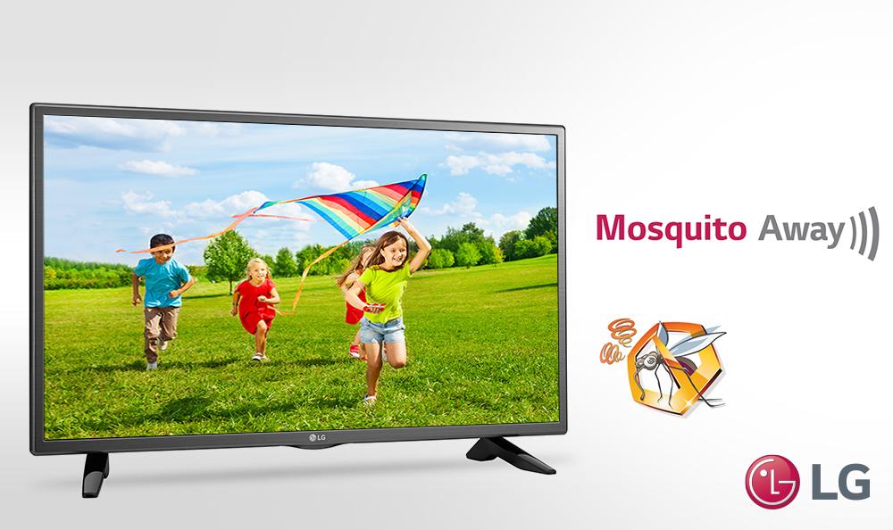 LG crea televisor que repele a los mosquitos