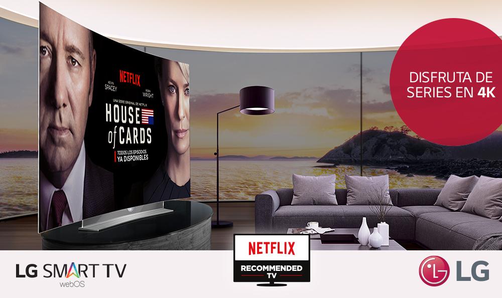 Disfruta series originales de Netflix en la máxima resolución