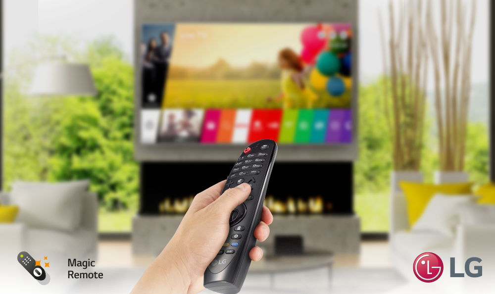¿En qué TV LG puedes usar tu Magic Remote?