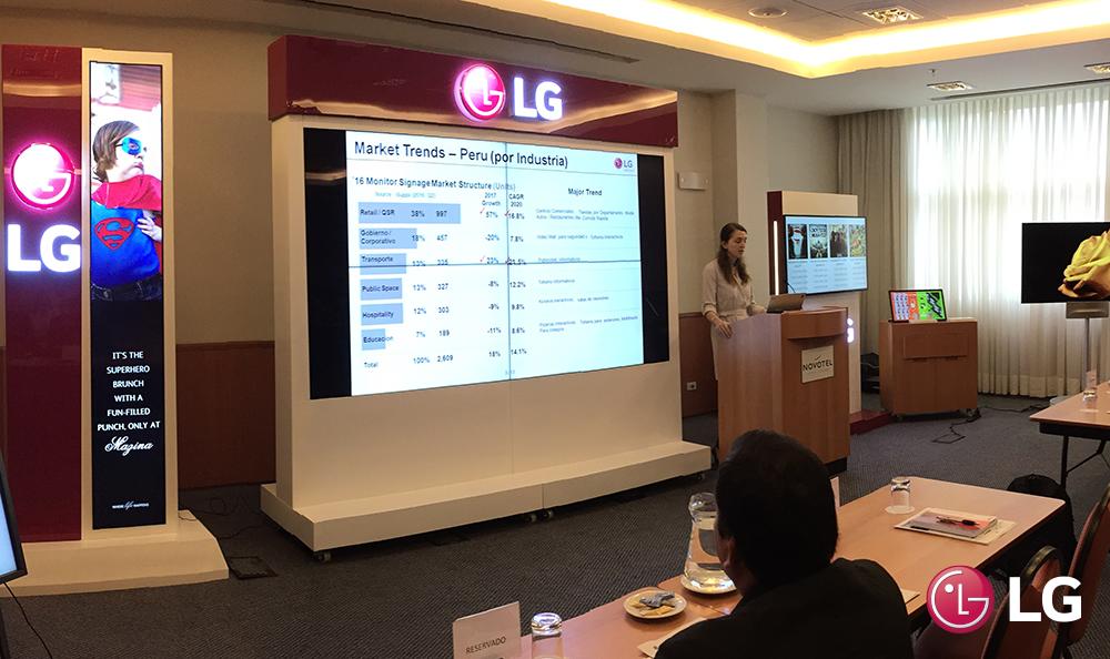LG Technical Seminar 2016 informó sobre lo último en tecnología de Monitores Signage