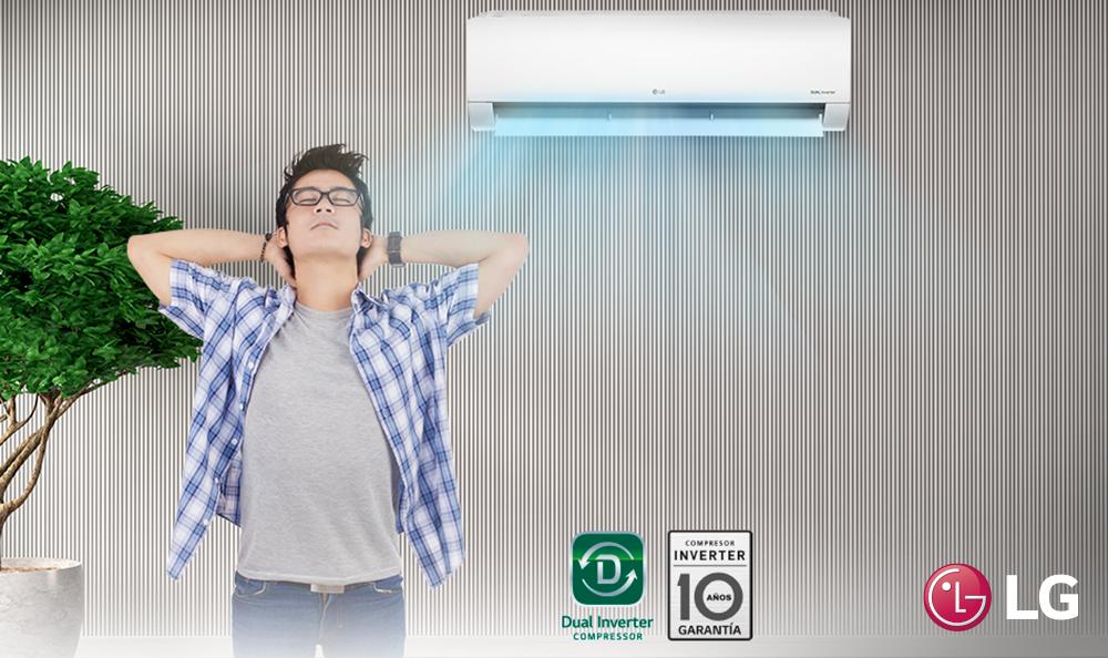 Conoce el filtro de limpieza de los aires acondicionados LG