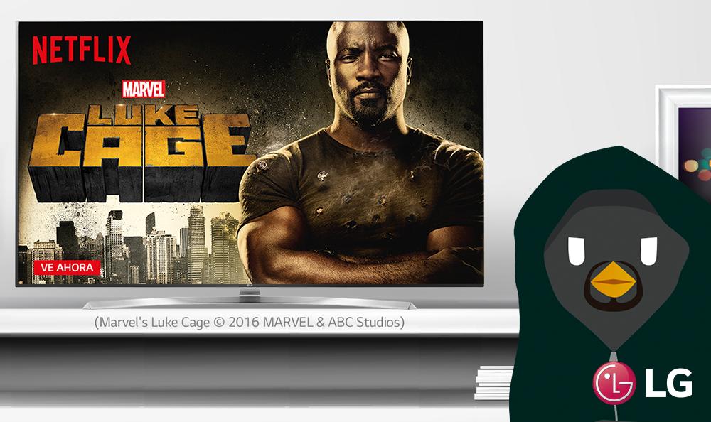 Luke Cage. El héroe que no quiere serlo llega a Netflix.