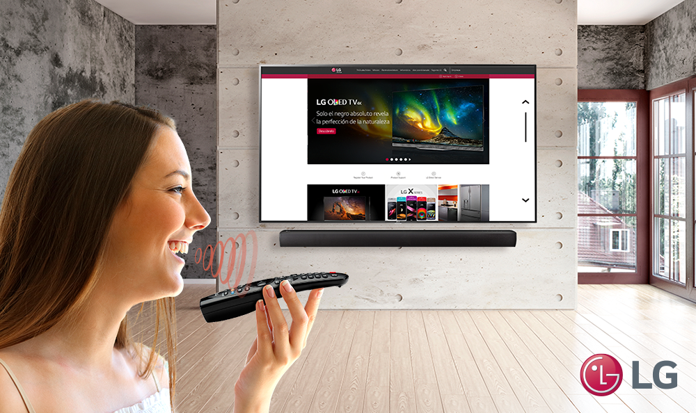 Navega en tu Smart TV LG con Magic Remote