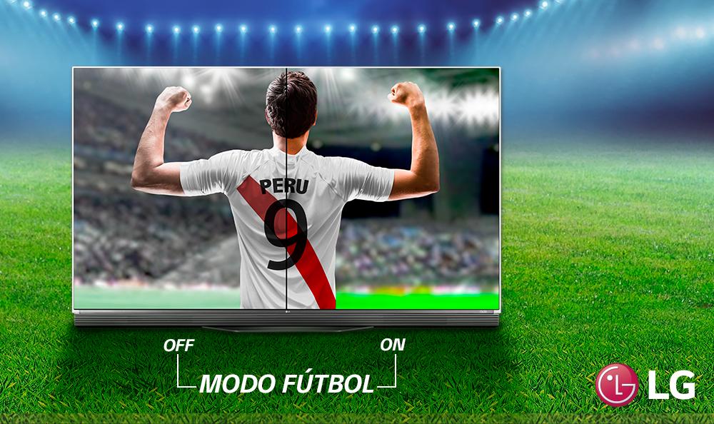 Vive el Fútbol con el Modo Deporte de tu Smart TV